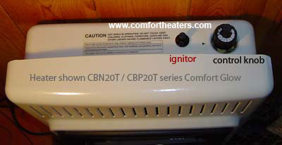 Cbn20t Comfort Glow Vent Free Heaters On Sale