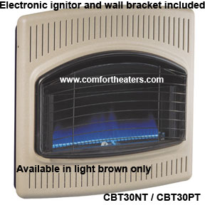 CBT30NT Comfort Glow blue flame heater on SALE!