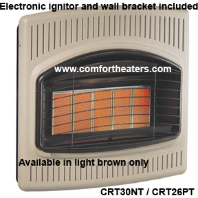Crt30nt Comfort Glow Vent Less Heater On Sale