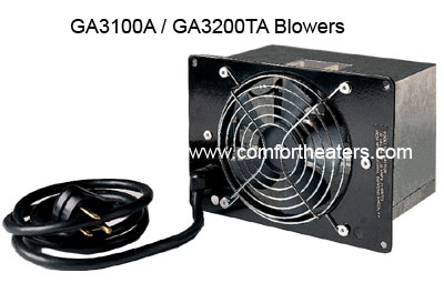 GA3200TA, GA3200T Thermostat blower for radiant flame vent less heater from Comfort Glow, Vanguard and Desa