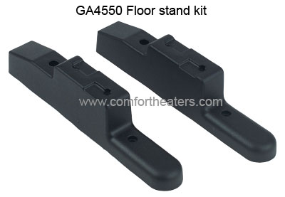 GA4550 floor stand kit for vent free heater units from Comfort Glow, Glow warm, Reddy heater and Vanguard by Desa