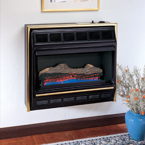 Comfort Glow radiant flame heaters are ventless heaters in natural gas and propane models